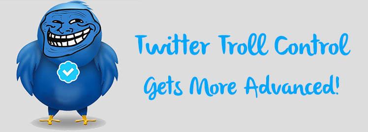 twitter troll control